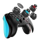 Spiel für Switch Controller, GEEKLIN Wireless Gamepad für PC und Android, 3D-Joystick-Module und Tastenmodule sind austauschbar