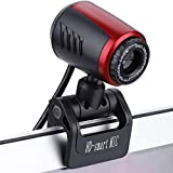 HD Webcam, 1080P HD USB PC Webcam Web Cam Camera,Horizontal 360  Drehen USB 2.0 Webkamera Mit Digital Mikrofon Fr PC Laptops Desktop Videotelefonie,Schwarz