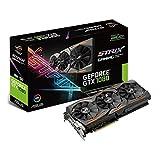 Asus ROG Strix GeForce GTX1080-8G Gaming Grafikkarte (Nvidia, PCIe 3.0, 8GB DDR5X Speicher, HDMI, DVI, DisplayPort)