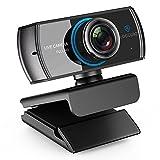 LOGITUBO HD Webcam 1080P Streaming Kamera mit Mikrofone Video Chat und Aufnahme PC Web Cam fr Windows Mac Xbox One untersttzung OBS Facebook