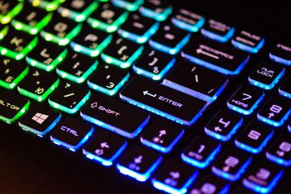 Beleuchtung Gaming Tastatur